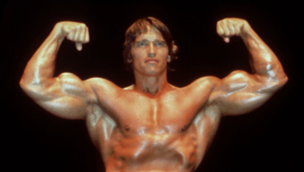 Arnold Schwarzenegger, en su juventud
