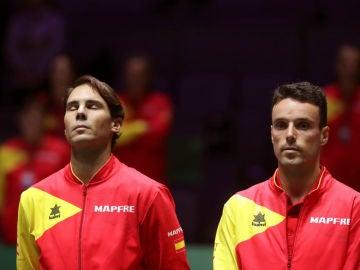 Rafa Nadal y Roberto Bautista