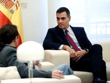 Pedro Sánchez y Pablo Iglesias en una imagen de archivo