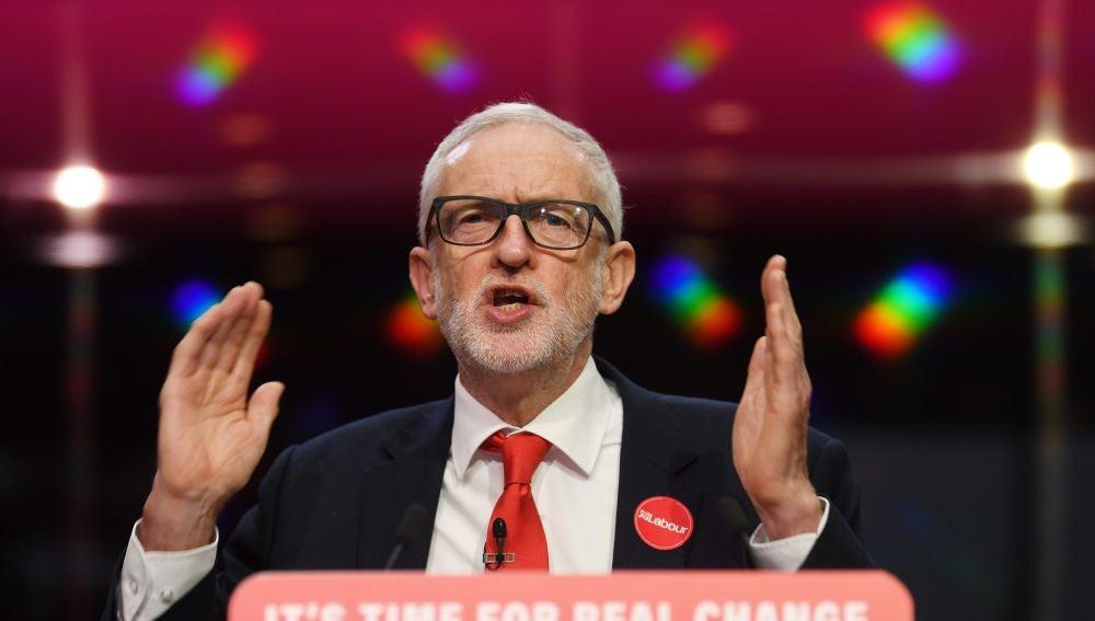 "Jeremy Corbyn promete ser ""neutral"" si se produce un segundo referéndum sobre el Brexit"