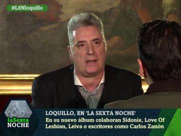 Loquillo con Iñaki López