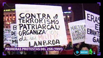 Repaso a los 28 años de lucha contra la violencia machista en España