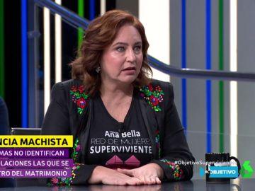 Ana Bella, activista contra la violencia machista