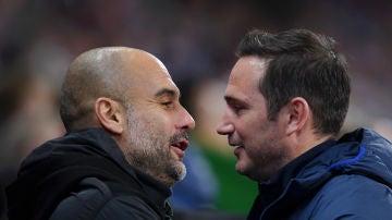 Guardiola, contra Lampard