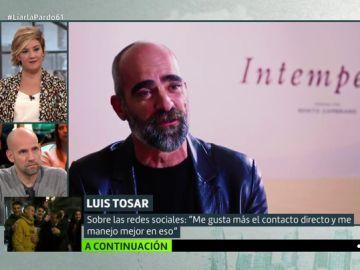 """Así le ha cambiado la vida ser padre a Luis Tosar: """"Hay observadores permanentes que toman tus actos como referencia"""""""