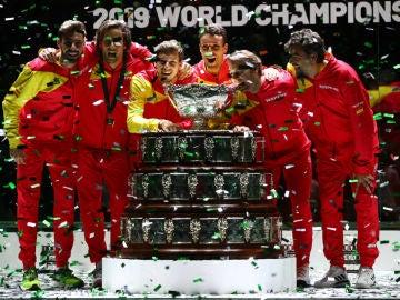 España conquista la Copa Davis