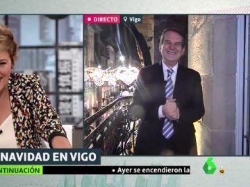 """El mensaje de Abel Caballero a Almeida y Villacís sobre las luces de Navidad: """"Si comparan, quedan en ridículo"""""""