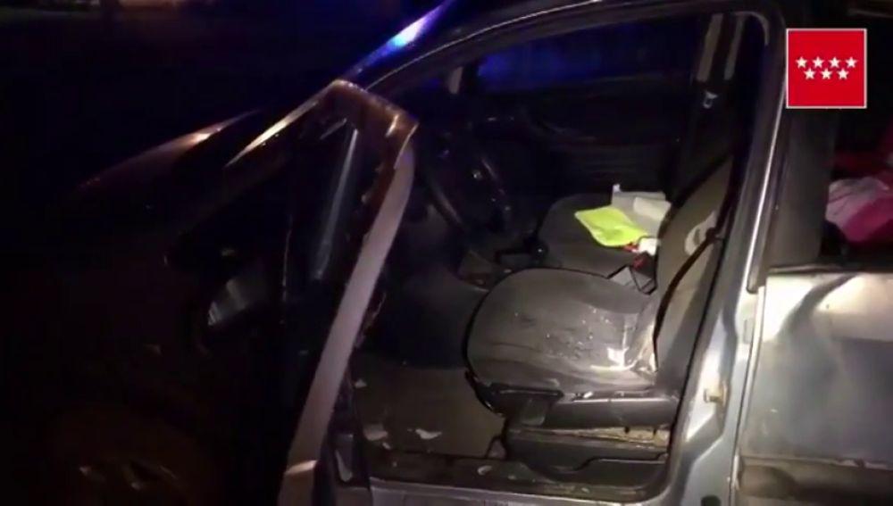 Muere un hombre de 50 años tras salirse de la vía el vehículo que conducía en el municipio madrileño de Aranjuez