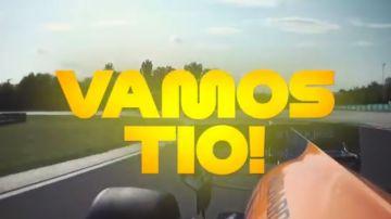 """El ya célebre """"¡Vamos, tío!"""" de Carlos Sainz en Hungría 2019"""