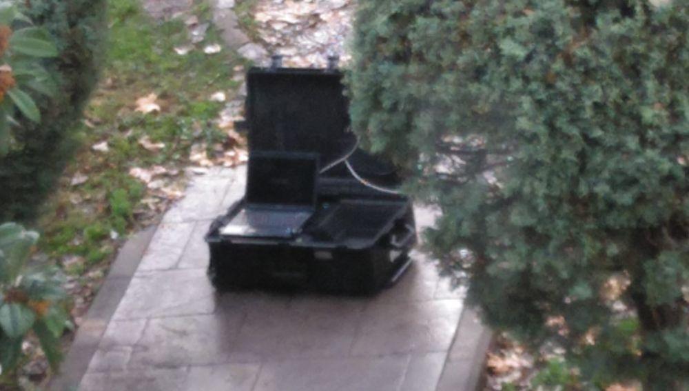 Dispositivo de los Tedax para detonar la granada
