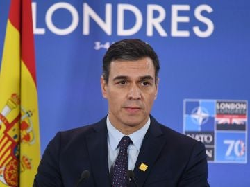 Pedro Sánchez, en la cumbre de la OTAN