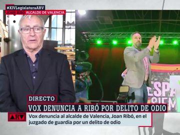 Joan Ribó responde tajante a Vox tras ser denunciado: