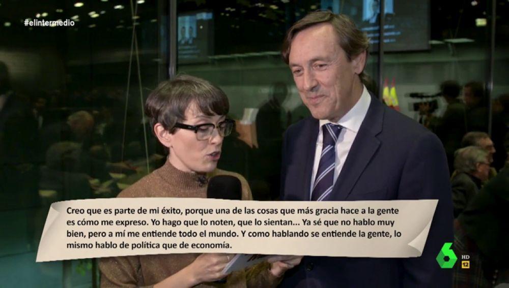 Rafael Hernando Y Javier Maroto Atribuyen Una Frase De Belén Esteban A Mariano Rajoy Es Rajoy En Estado Puro