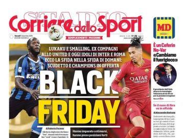 La polémica portada del Corriere dello Sport
