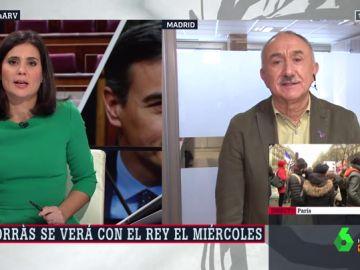 María Llapart y Pepe Álvarez