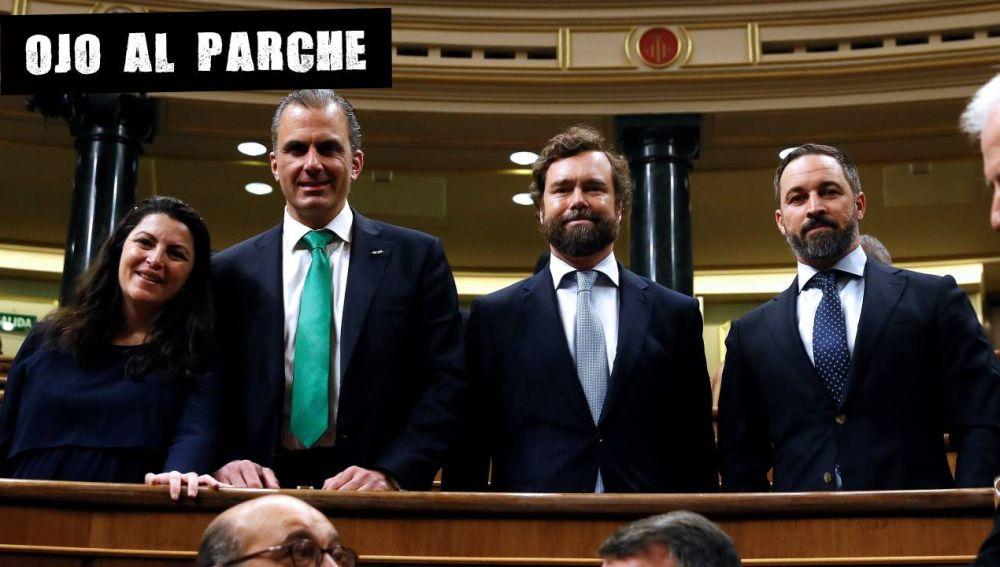 Miembros de Vox en el Congreso de los Diputados