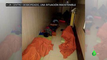 Hacinados, durmiendo en el suelo y casi sin ayudas para su futuro: así es la vida en el centro de menores de Hortaleza