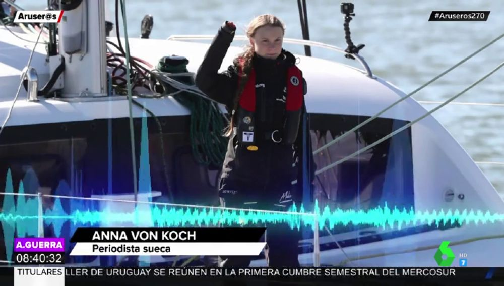 Greta Thunberg habló sobre Chile:
