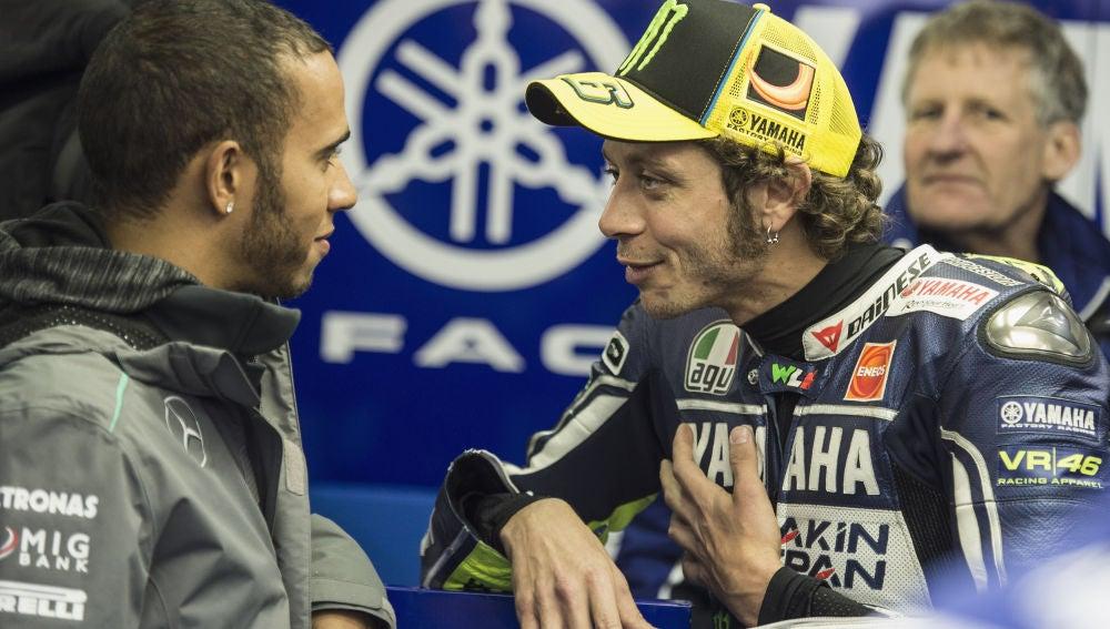 Hamilton y Rossi