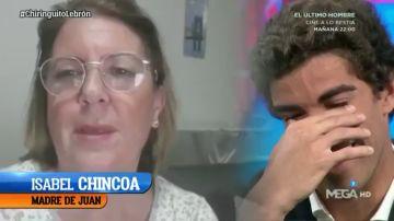 Juan Lebrón y su emoción con los mensajes de sus familiares y amigos