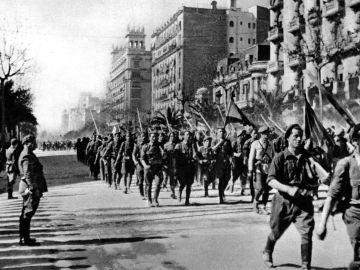 Toma de Barcelona Guerra Civil