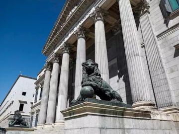 Imagen de archivo de la fachada del Congreso