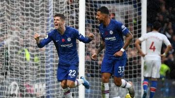 Pulisic celebra un gol