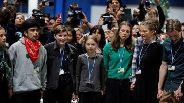 Greta Thunberg en la Cumbre del Clima de Madrid