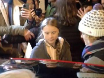 Greta Thunberg abandona la marcha por el clima de Madrid