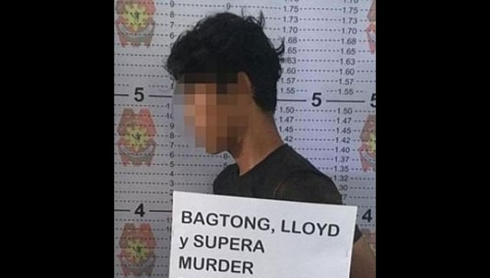 El sospechoso detenido por la policía