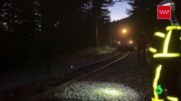 Muere una mujer y otra resulta herida al ser arrolladas por un tren en Cercedilla