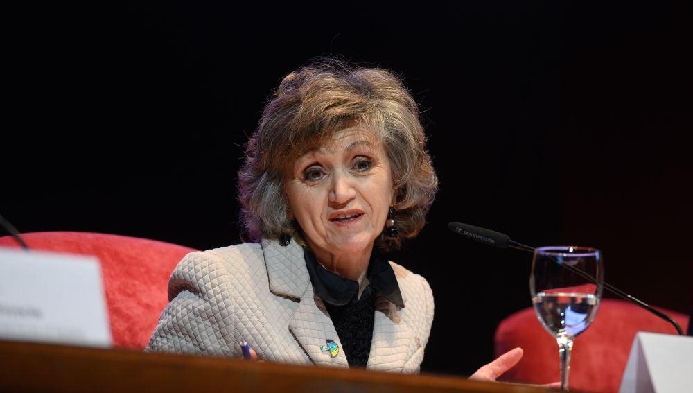 Maria Luisa Carcedo en la Cumbre del Clima