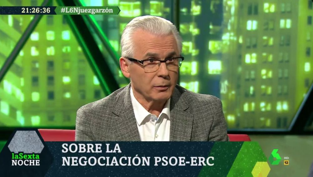 Baltasar Garzón en laSexta Noche