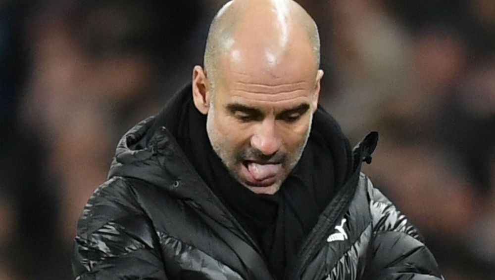 Guardiola, frustrado