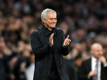 Jose Mourinho, feliz