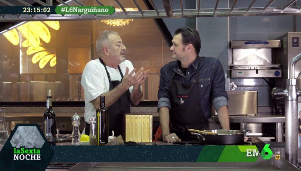 Karlos Arguiñano e Iñaki López