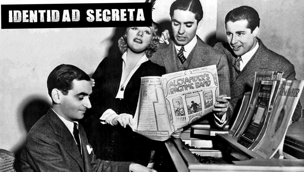 Irving Berlin al piano