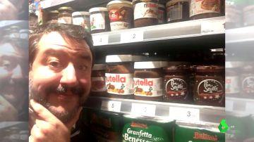 Salvini da marcha atrás en su boicot a Nutella por estar elaborada con avellanas turcas