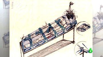Salen a la luz dibujos que muestran los métodos criminales que utilizaba la CÍA para torturar a los presos
