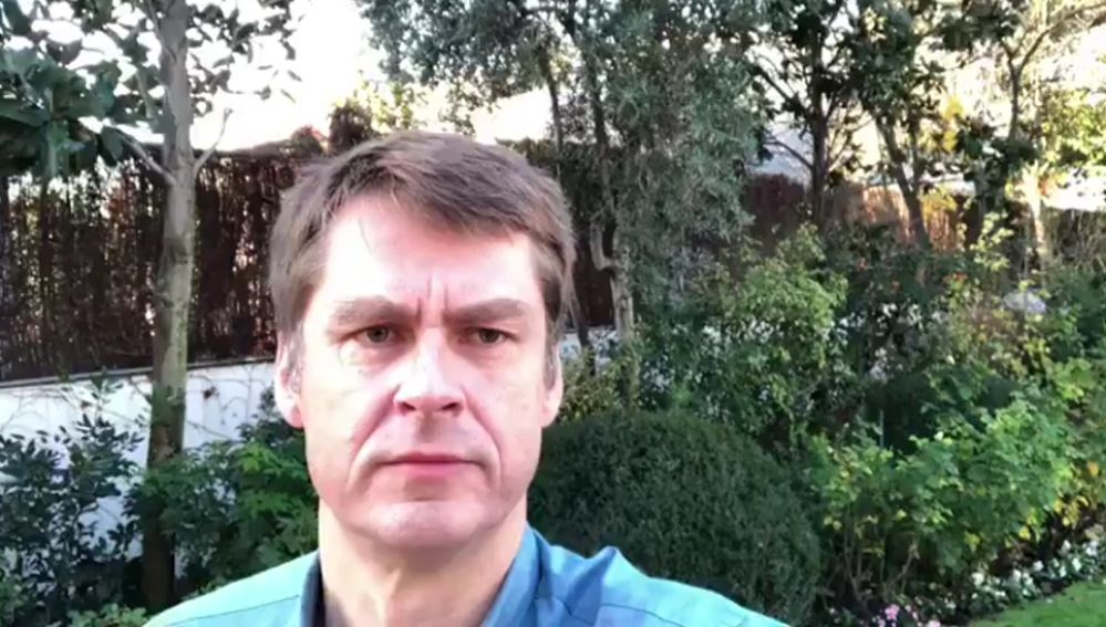 Imagen del embajador de Reino Unido en España