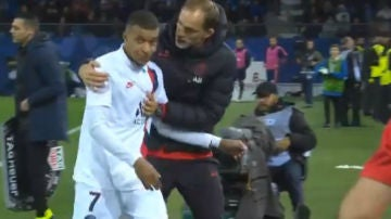 Mbappé no quiere ni mirar a Tuchel