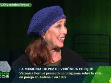 Verónica Forqué en laSexta Noche