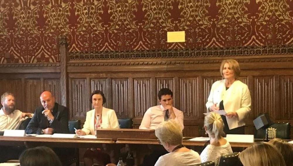 Anne Longfield, de la Comisión de Menores en Inglaterra