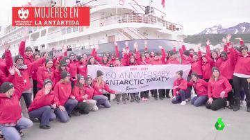 Siete científicas españolas, en la mayor expedición femenina a la Antártida para luchar contra la emergencia climática