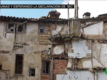 Más de 80 pueblos de Castilla y León llevan años esperando que la Junta proteja su patrimonio
