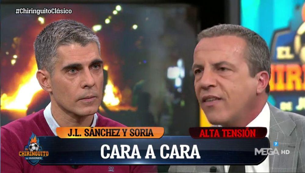 José Luis Sánchez y Cristóbal Soria en El Chiringuito
