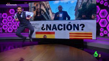 """Dani Mateo El líder del PP catalán """"convierte una manifestación en una clase de CrossFit"""""""