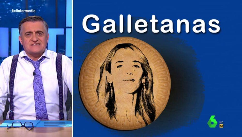"""'Las Galletanas', las galletas que Cayetana Álvarez de Toledo reparte a diestro y siniestro """"para que los medios le hagan caso"""""""