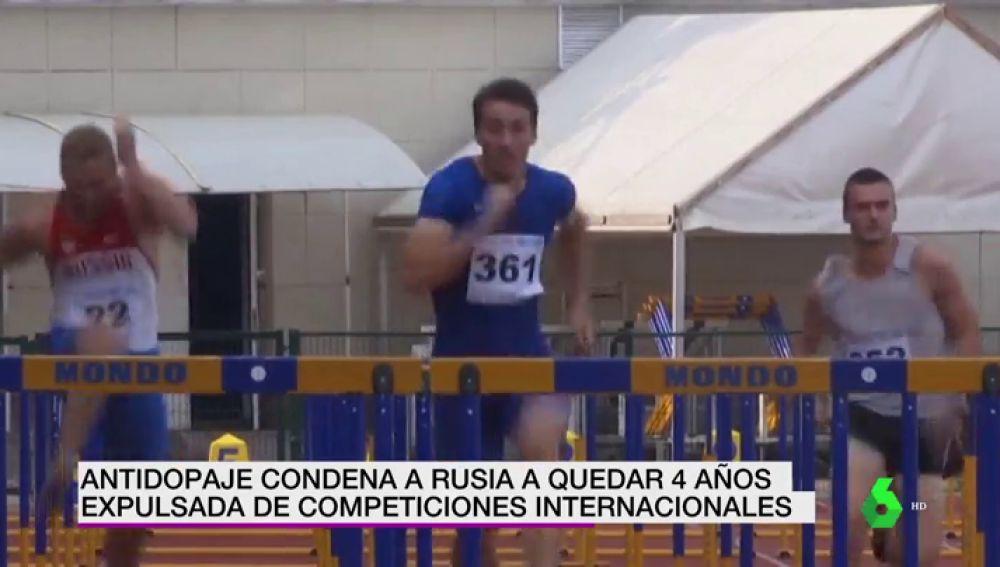La AMA excluye a Rusia de las competiciones internacionales durante 4 años
