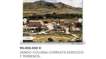 Anuncio de Wallapop en el que se oferta la Colonia de Santa Eulalia